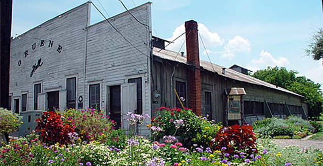 Gruene Hall in the spring.