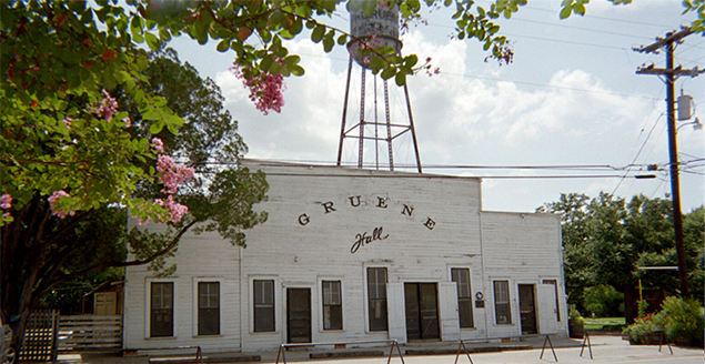 Gruene Hall, the oldest dance hall in Texas.